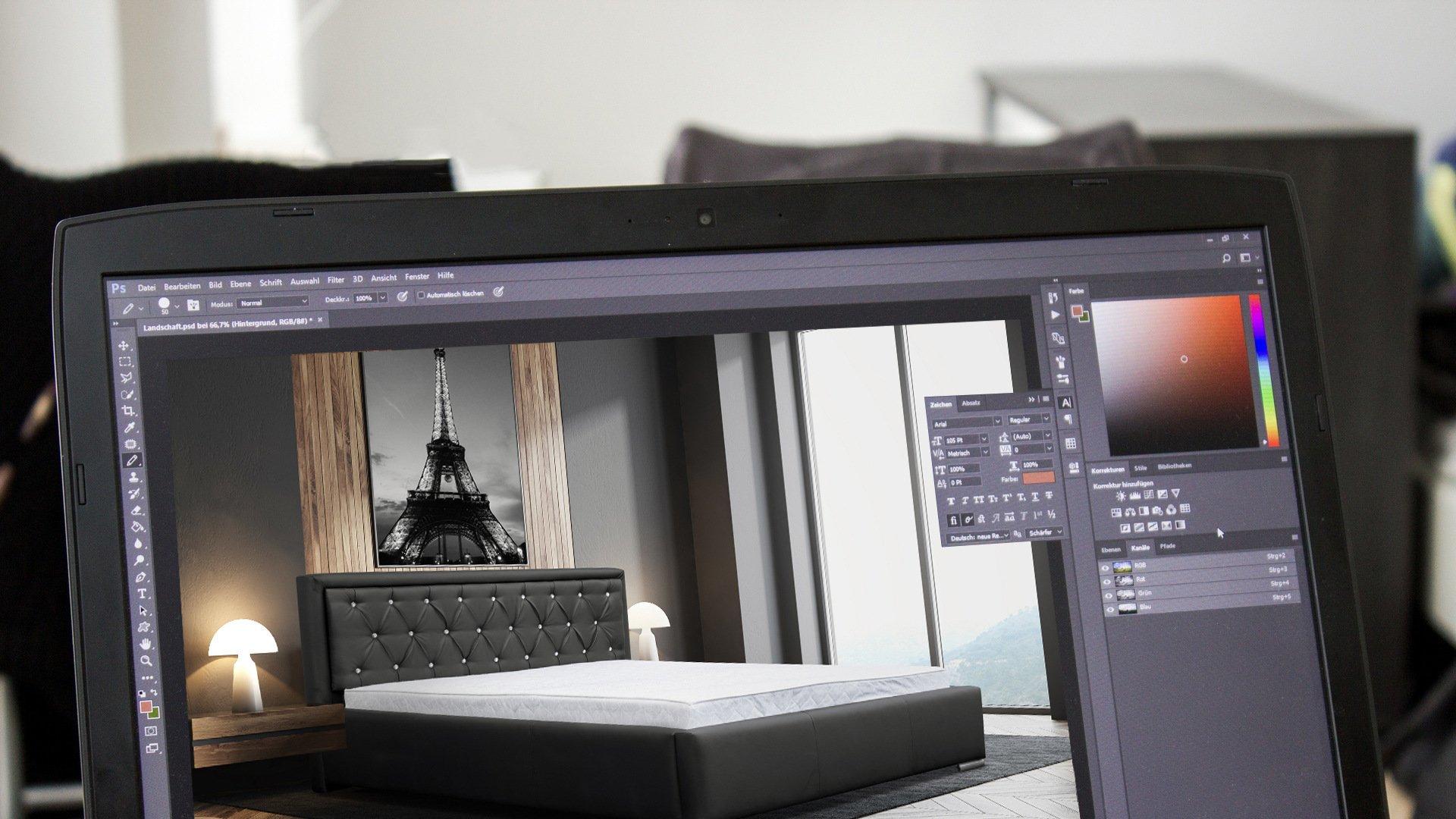 Studio graficzne - aranżacje mebli, modyfikacje zdjęć Kępno